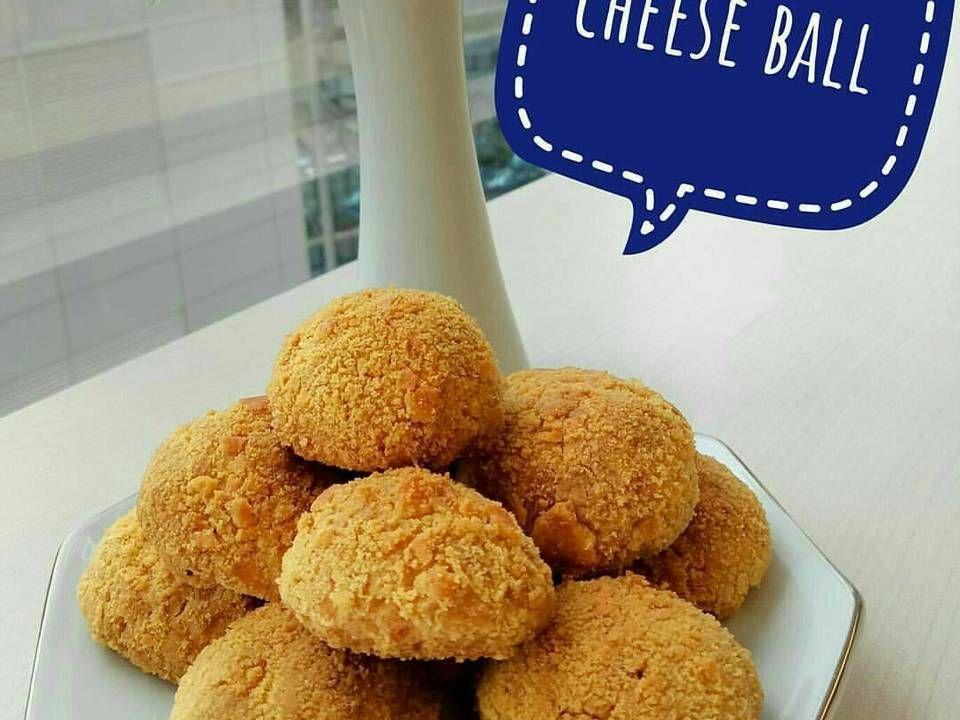 Resep Cheese Ball Oleh Finny Puspitasari Muwarman Resep Bola Keju Cheddar Resep