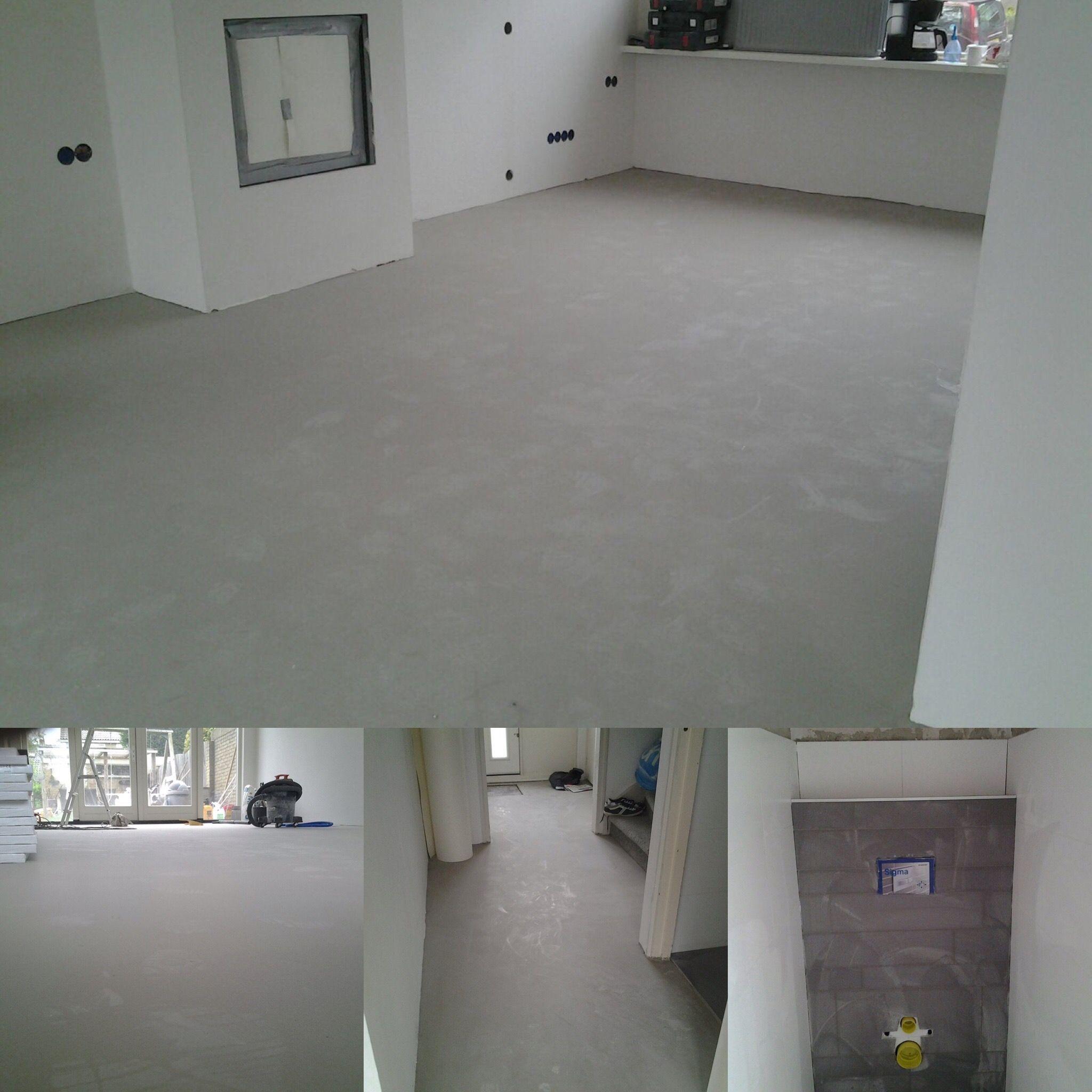 project in oudorp oude vloer gesloopt keuken verwijderd open