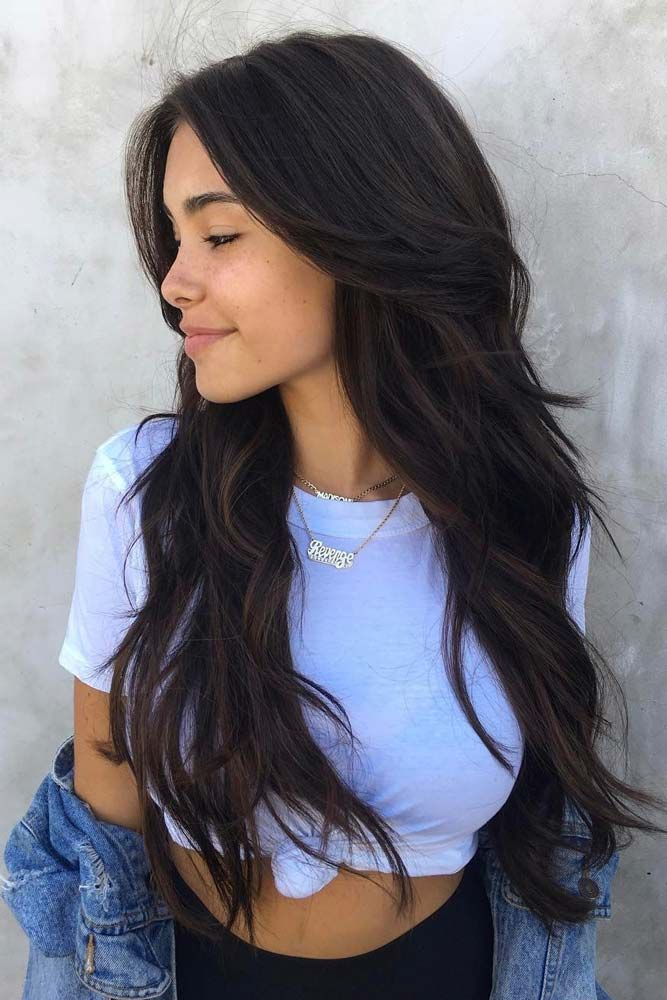 24 Stunning Ideas For Long Layered Haircut Hairstyles Pinterest