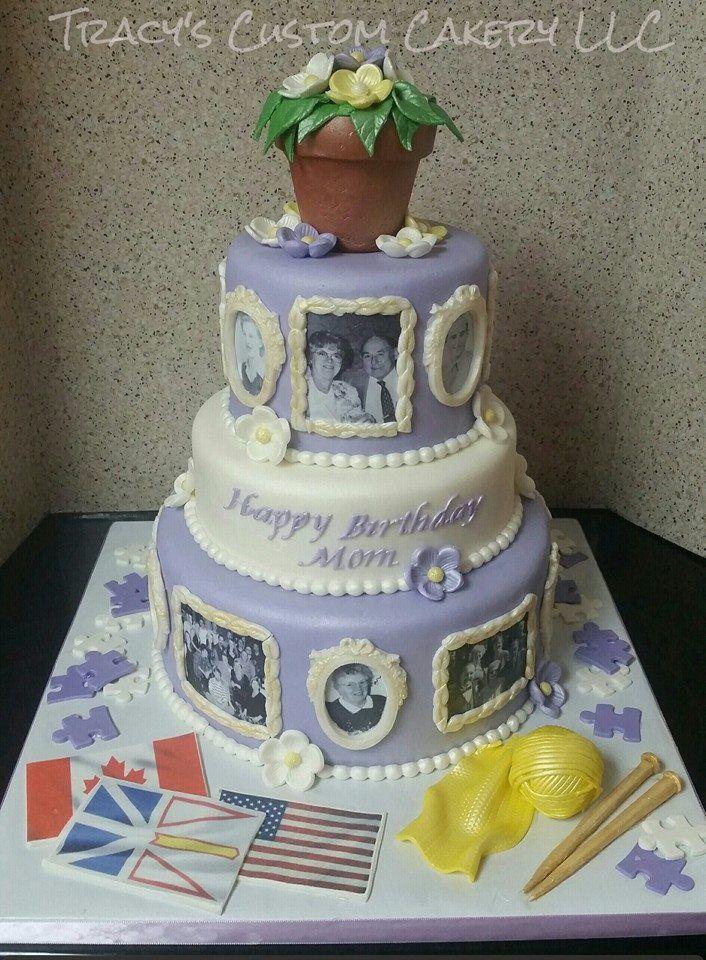 90th Birthday Cake Decorating Ideas : 90th birthday cake Milestone Birthday Cakes Pinterest ...
