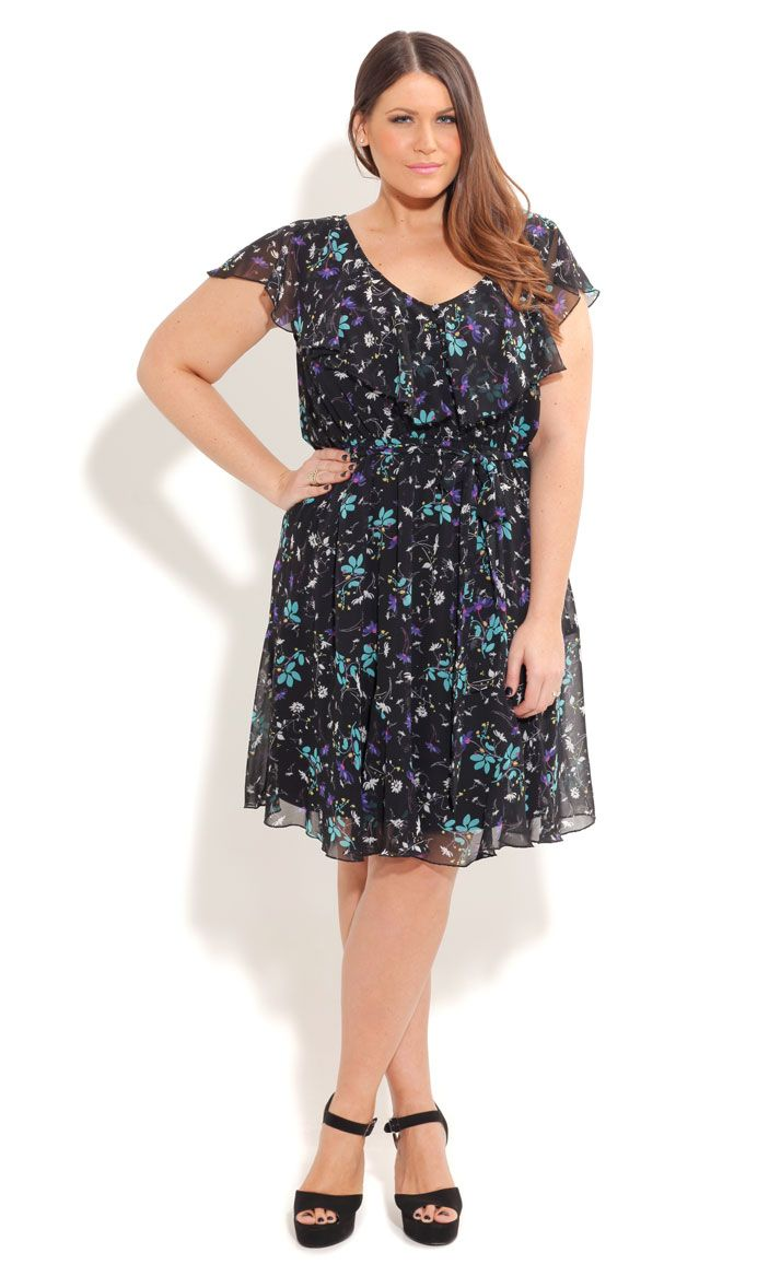 0ce609e9b6790 City Chic MISS DAISY DRESS- Women s Plus Size Fashion