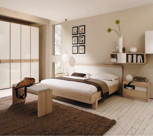 chambre zen mobilier bois clair décoration-discrète | Chambre ...