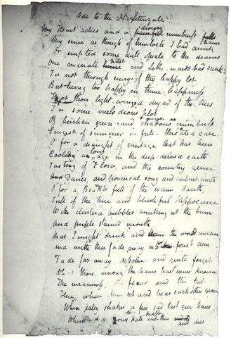 The Fascinating Handwritten Poems Of Famous Authors