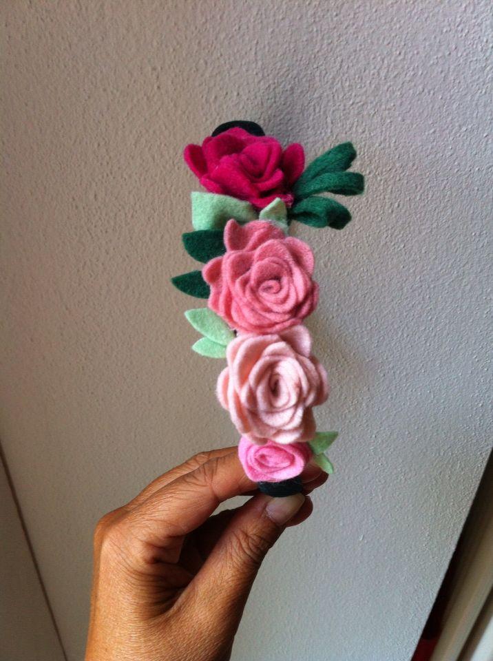 Rose romantiche !