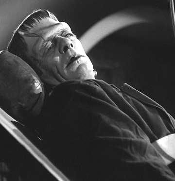 Frankenstein Monster Glenn Strange Monster Horror Movies