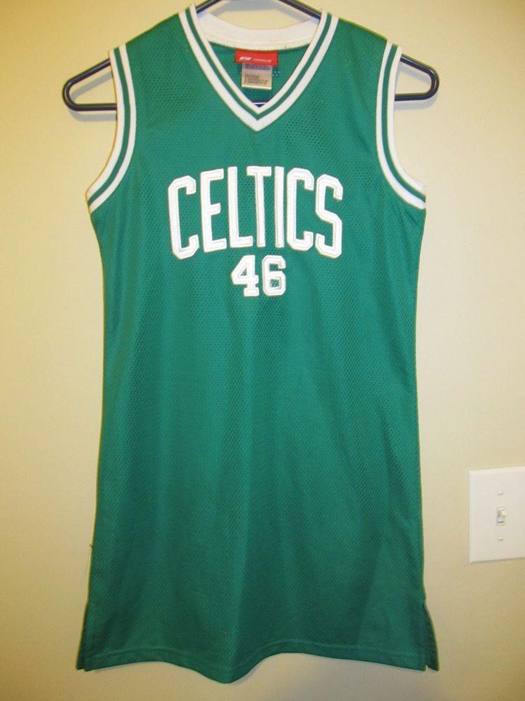 Boston Celtics Jersey Dress Reebok Youth Girls Medium Reebok Bostonceltics Jersey Jersey Jacket Boston Celtics