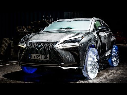 Merveilleux Lexus NX Gets Outfitted With Wheels Made Out Of Ice