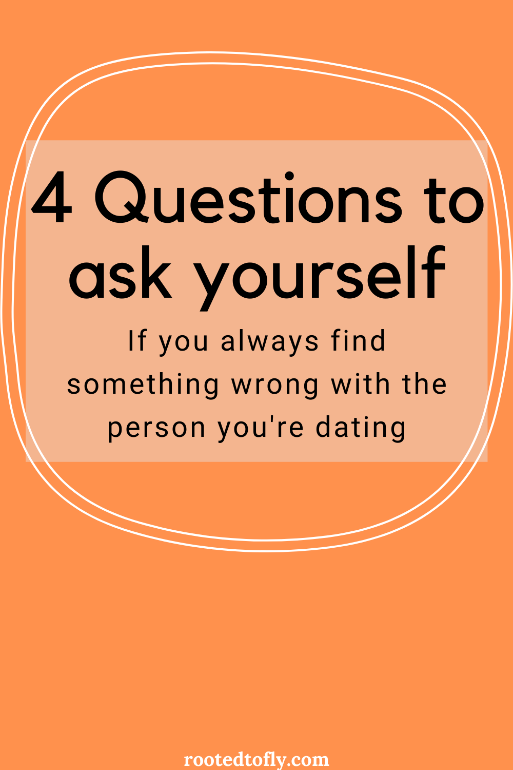 Do You Always Find Something Wrong With The Person You Re Dating Marriage Counseling Self Exploration This Or That Questions