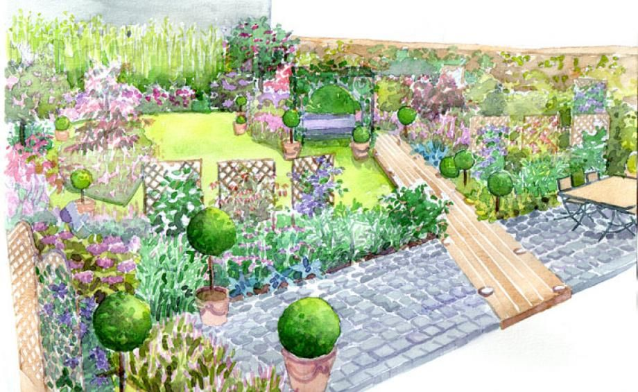 Idee Amenagement Jardin Potager | Garden planning, Outdoor ...