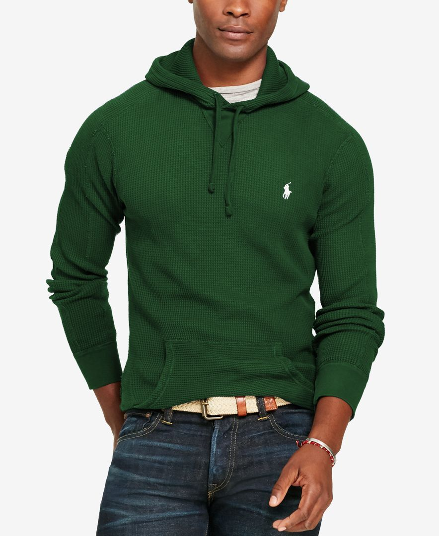 34d19c612 Lightweight cotton makes this Polo Ralph Lauren hoodie excellent for  layering when the temperature dips. | Cotton | Machine washable | Imported  | Size ...