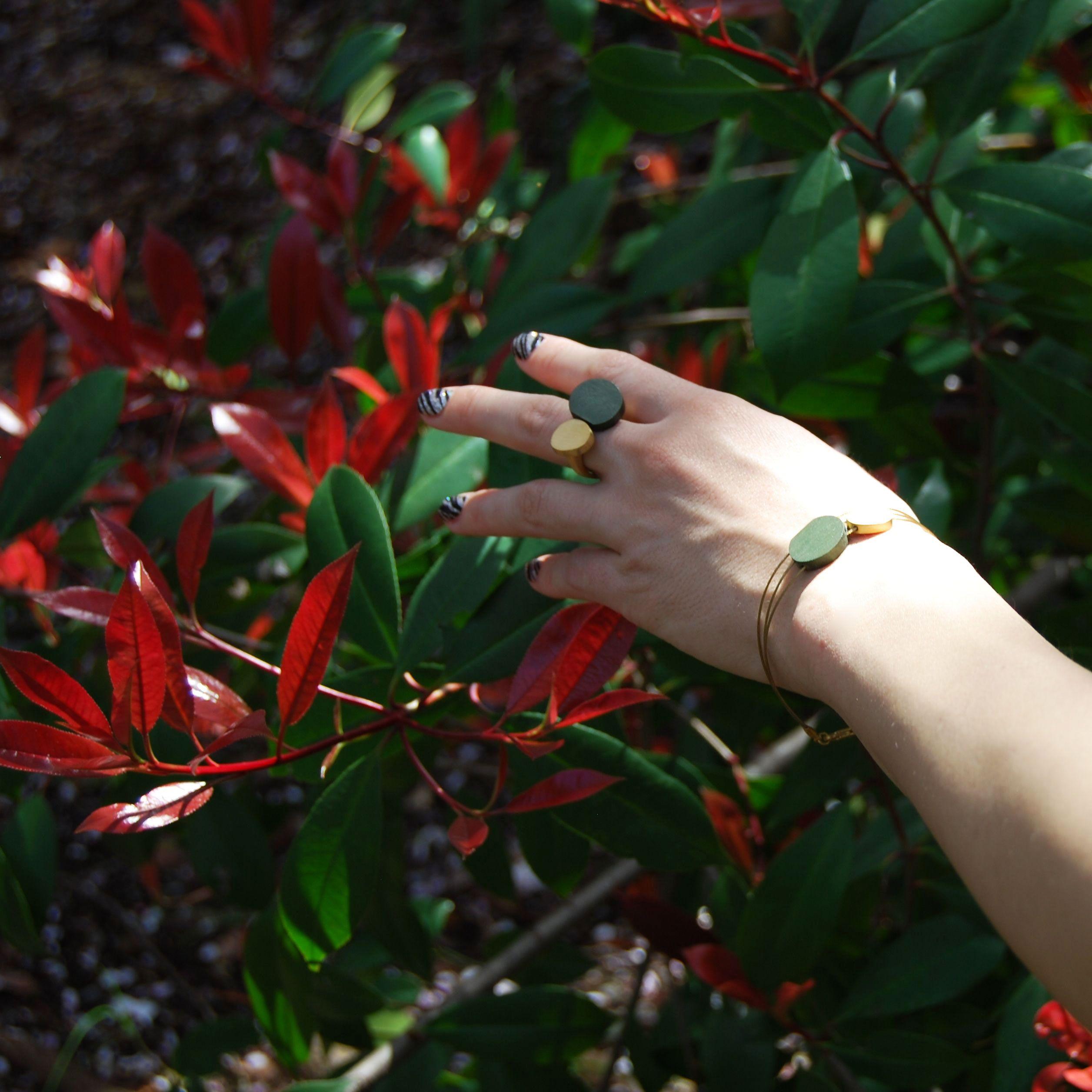 ring & bracelet by joid'art