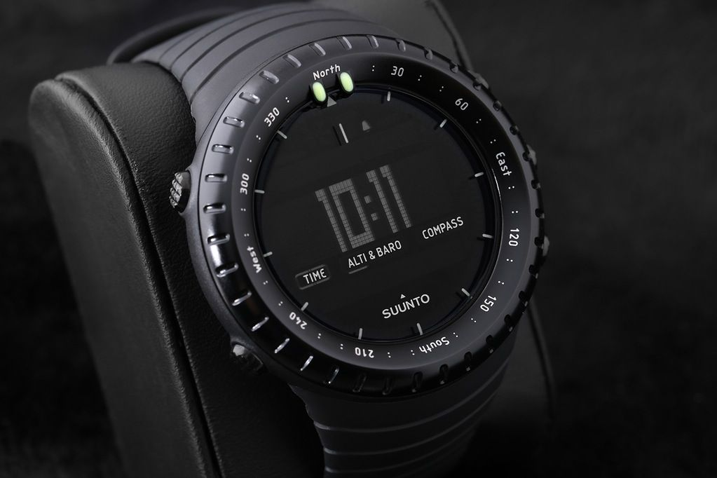 Pin by Joshwa on Watches All black watches, Suunto core
