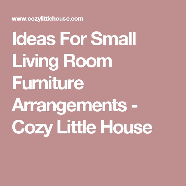Fantastic Arranging Furniture In Small Living Room Crest - Living ...