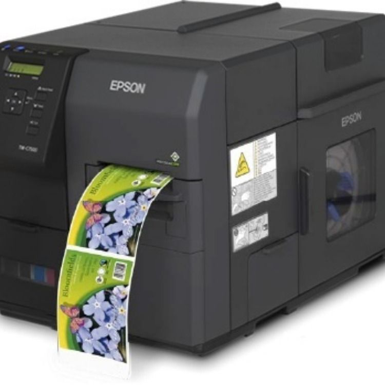 This is a photo of Amazing Colorworks Securcolor C3400 Inkjet Label Printer