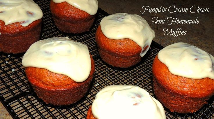 I love anything pumpkin flavored this time of year, but sometimes there is no time for from scratch baking. Check out our SEMI HOMEMADE PUMPKIN CREAM CHEESE MUFFINS. Less work in the kitchen, but still tastes great.