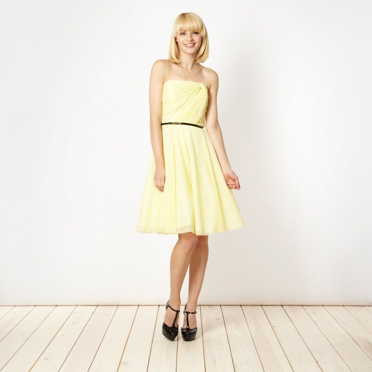 But bought this dress instead diamond by julien macdonald yellow