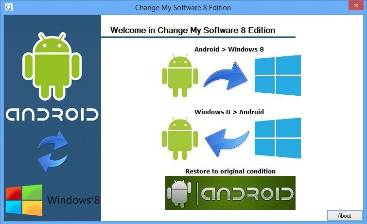 change my software 8 edition free download no survey