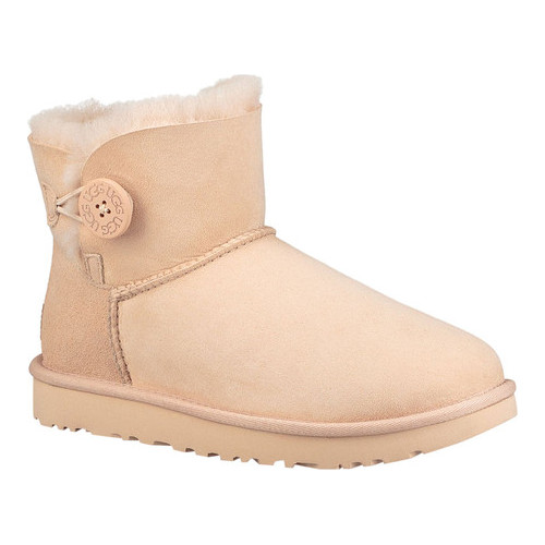 0c81777e1f3 Women's UGG Mini Bailey Button II - Amberlight Twinface Boots in ...
