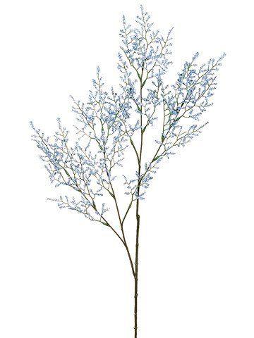Artificial Caspia Filler Flowers In Light Blue In 2020 Light Blue Flowers Flower Spray Flowers