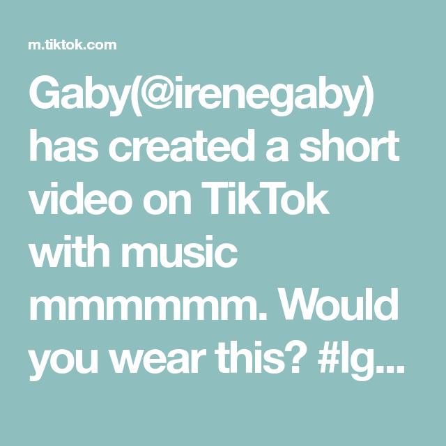 Gaby Irenegaby Has Created A Short Video On Tiktok With Music Mmmmmm Would You Wear This Lgbtq Lesbian Fashioninspo Lesbian How To Wear Lgbtq