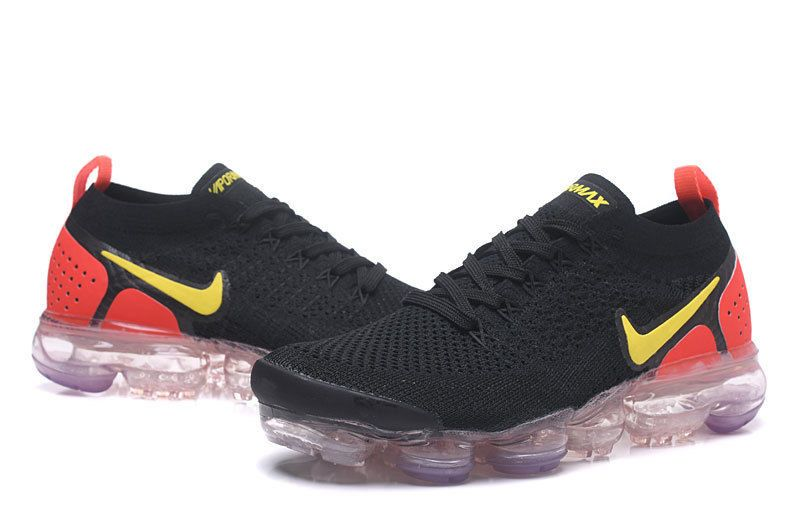 0cad735786e24d NIKE AIR VaporMax Air Max 2018V Men s Running Trainers Shoes BLACK ORANGE   fashion  clothing  shoes  accessories  mensshoes  athleticshoes (ebay link)