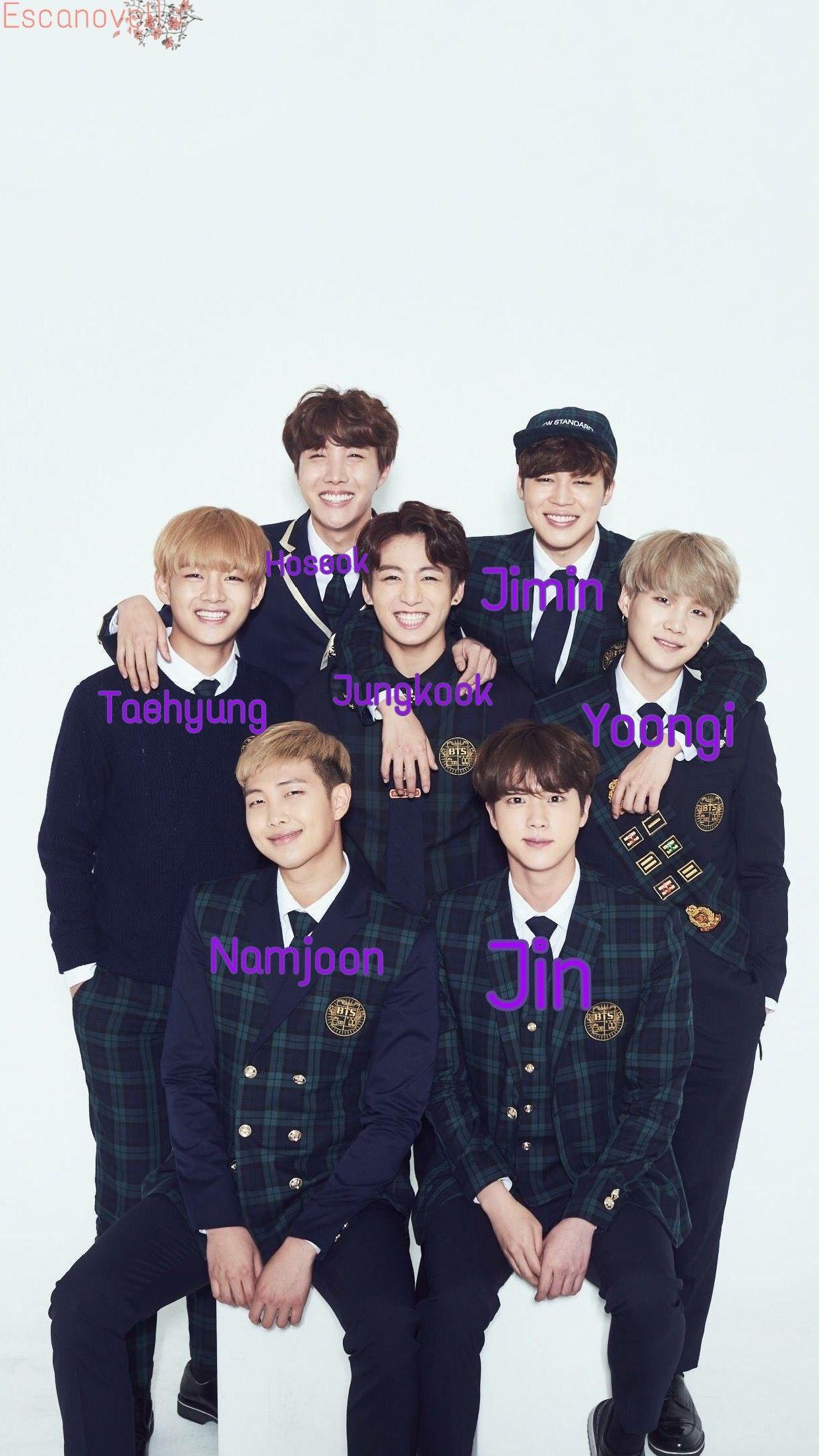 Pin By Stephanie Jimenez On Bts Cute Actors Bts Members Names Jimin Jungkook Wallpaper cute bts members