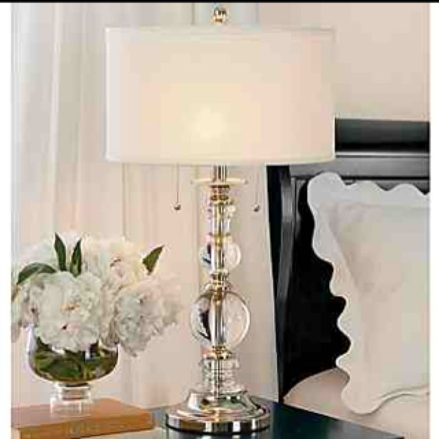 Love This Lamp By Cindy Crawford Table Lamps For Bedroom Crystal Table Lamps Lamps Living Room