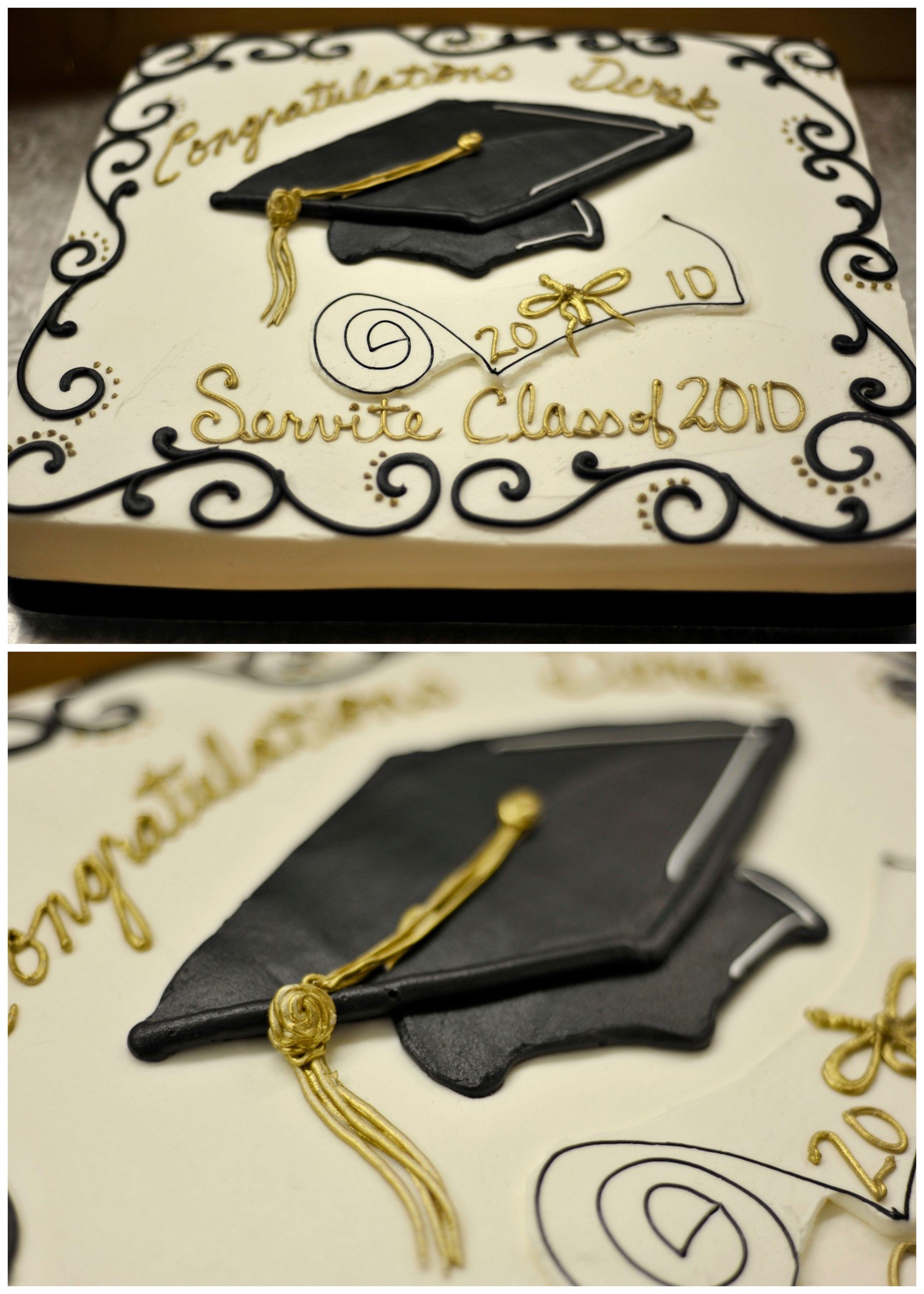 Graduation Sheet Cakes Simple Graduation Cake...