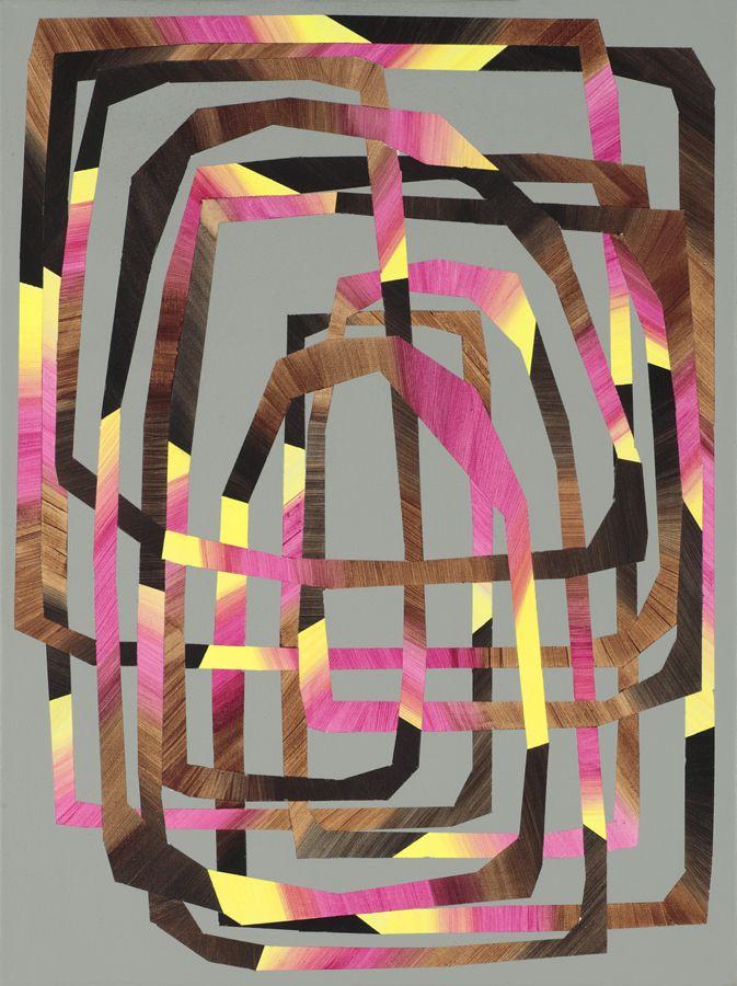 """Deirdre McAdams  Rich Interior Life. 2012. Acrylic on canvas. 18x24"""""""