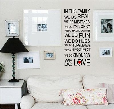 Wall Quotes - Decorate with meaningful & beautiful vinyl wall quotes & sayings.Home and family wall quotes are a lovely way to fill up empty space in a foyer or entryway. Variety of subjects: Family Established Quotes, Children/Teen Centered, Home Blessings or make your own Personalized Wall Quotes. Easy to Apply, Remove, and Reapply. Different designs, formats, and fonts.  http://www.enchantingquotes.com/