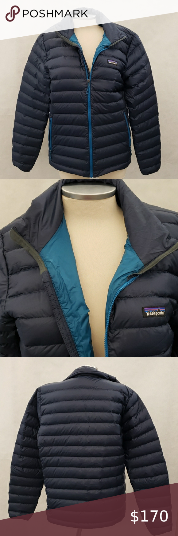 Patagonia Mens Down Sweater Puffer Jacket Coat in 2020
