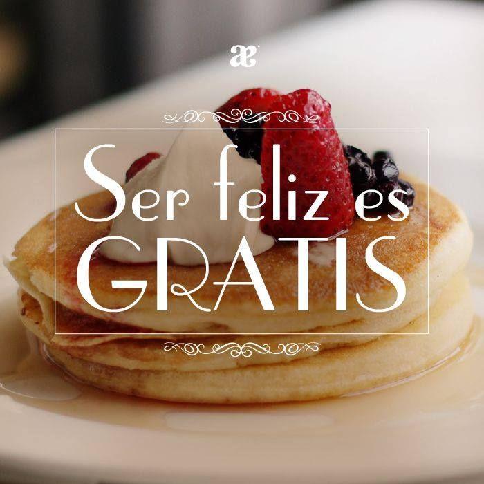Gourmet | Frases cocina, Ser feliz es gratis y Ser feliz