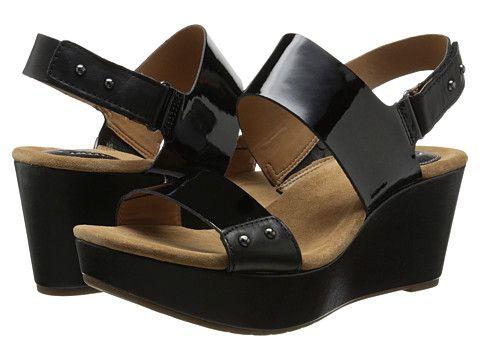 Clarks Caslynn Dez Black Patent Leather