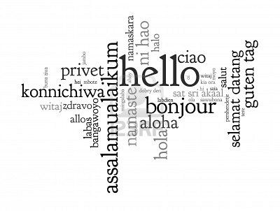 """learn how to say """"hello"""" in 50 different languages. 