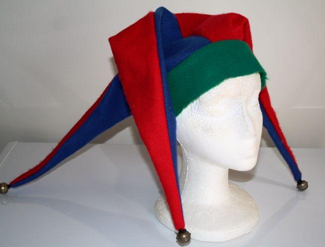 990e8d0a62a DIY Jester Harley Quinn Hat