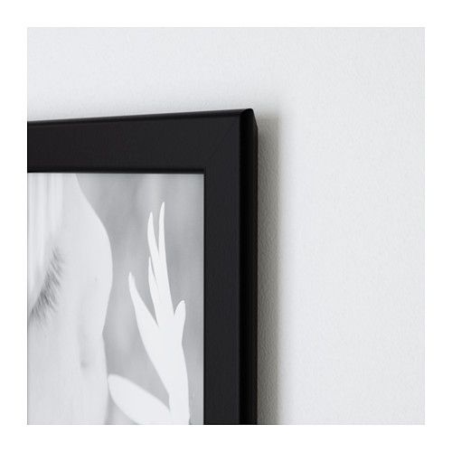 Fiskbo Cadre Noir Ikea Frames Decorating With Pictures