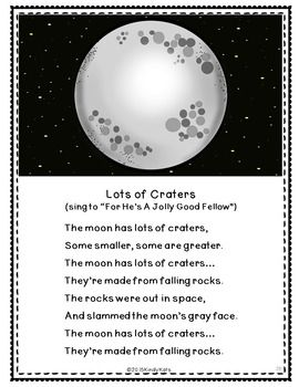 Space Songs: Astronauts   Sun   Earth   Moon   Planets