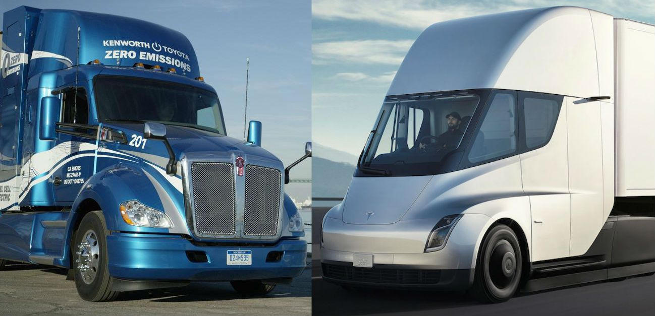 Tesla Semi gets 'peppy and quiet' hydrogen fuel cell