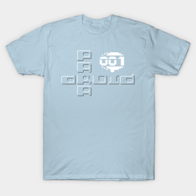 paradroid  c64  tshirt c64gamepixelsxyz  mens tops