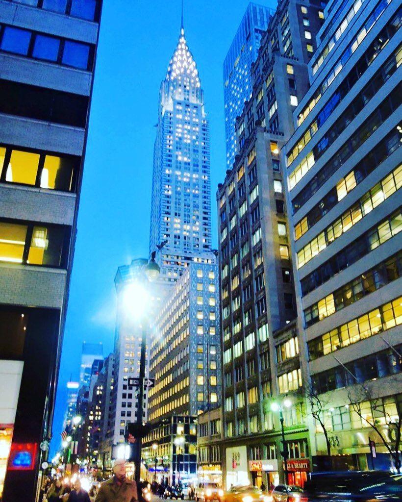 The Chrysler Building by @ElaineAgapiou | newyork newyorkcity newyorkcityfeelings nyc brooklyn queens the bronx staten island manhattan @lingkingman @ellistuesday @BastienGchr @Parccy