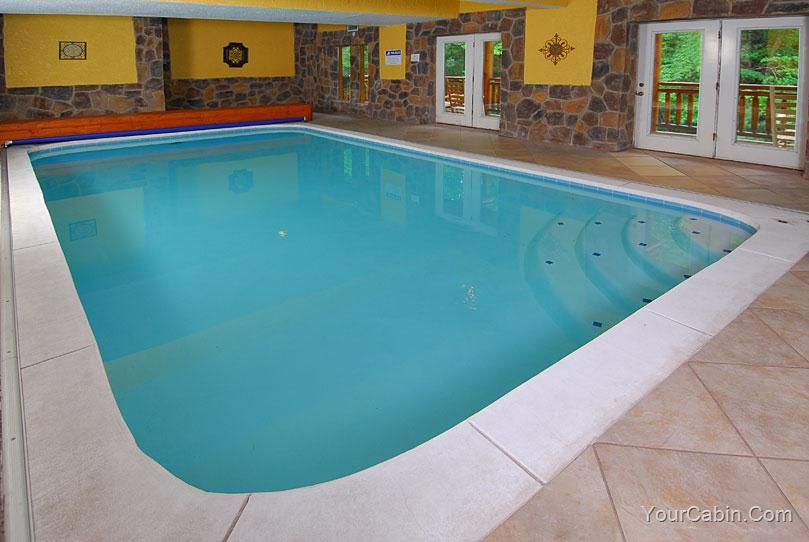 Pool And Theater Lodge   8 Bedroom Cabin Rental. Luxury CabinMountain  CabinsSmoky ...