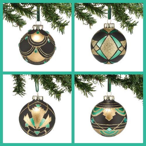 Image Result For Dept 56 Art Deco Ornaments Christmas Ornaments Ornaments Art Deco