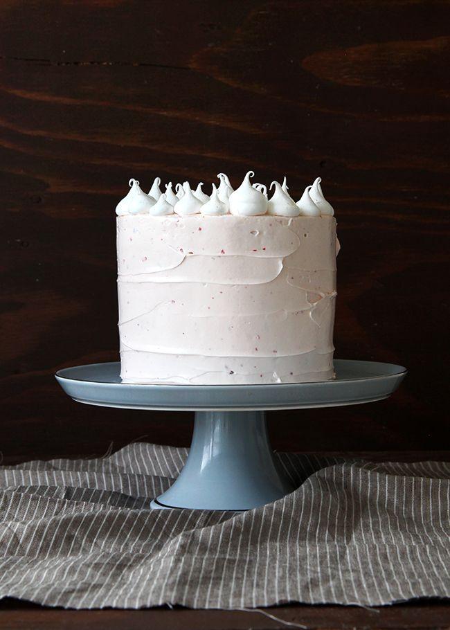 Kaffee, Kuchen, Schaumküsse, Rosa Kuchen, Deko Ideen, Teig, Andere, Glück,  Weihnachten