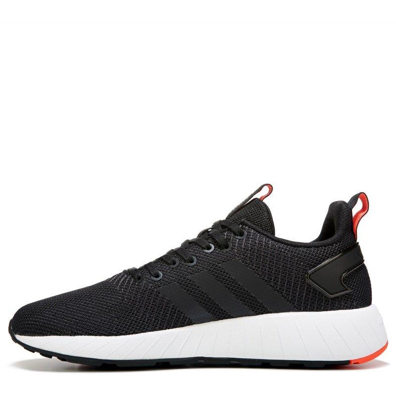adidas uomini questar da scarpe da ginnastica (nero / bianco / rosso) pinterest