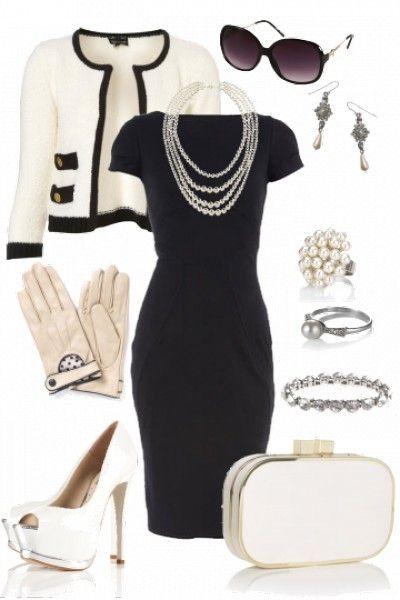 coco chanel das perfekte businessoutfit f r die frau kleider kleidung und chanel kleider. Black Bedroom Furniture Sets. Home Design Ideas
