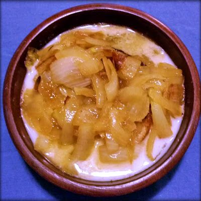 Give it Forth: Harleian MS. 279 (ab 1430) - Soupes Dorroy- Onion Soup II