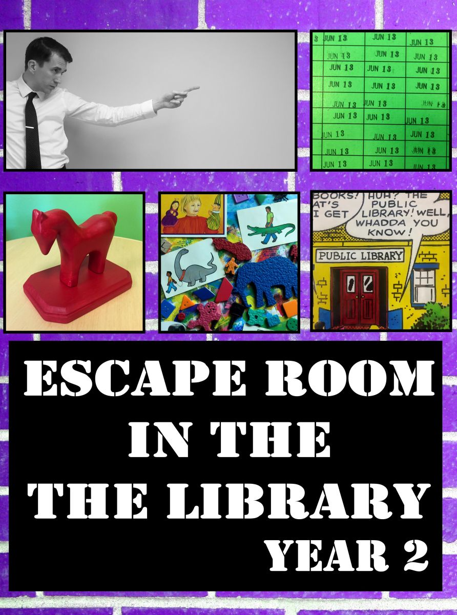 New escape room in the library perfect for summer