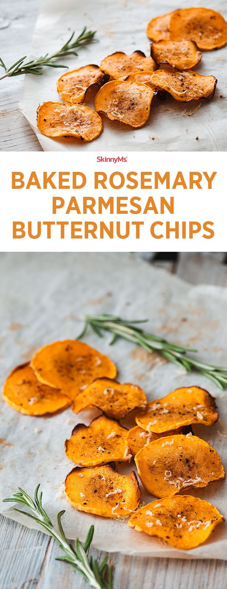 Baked Parmesan Butternut Chips picture