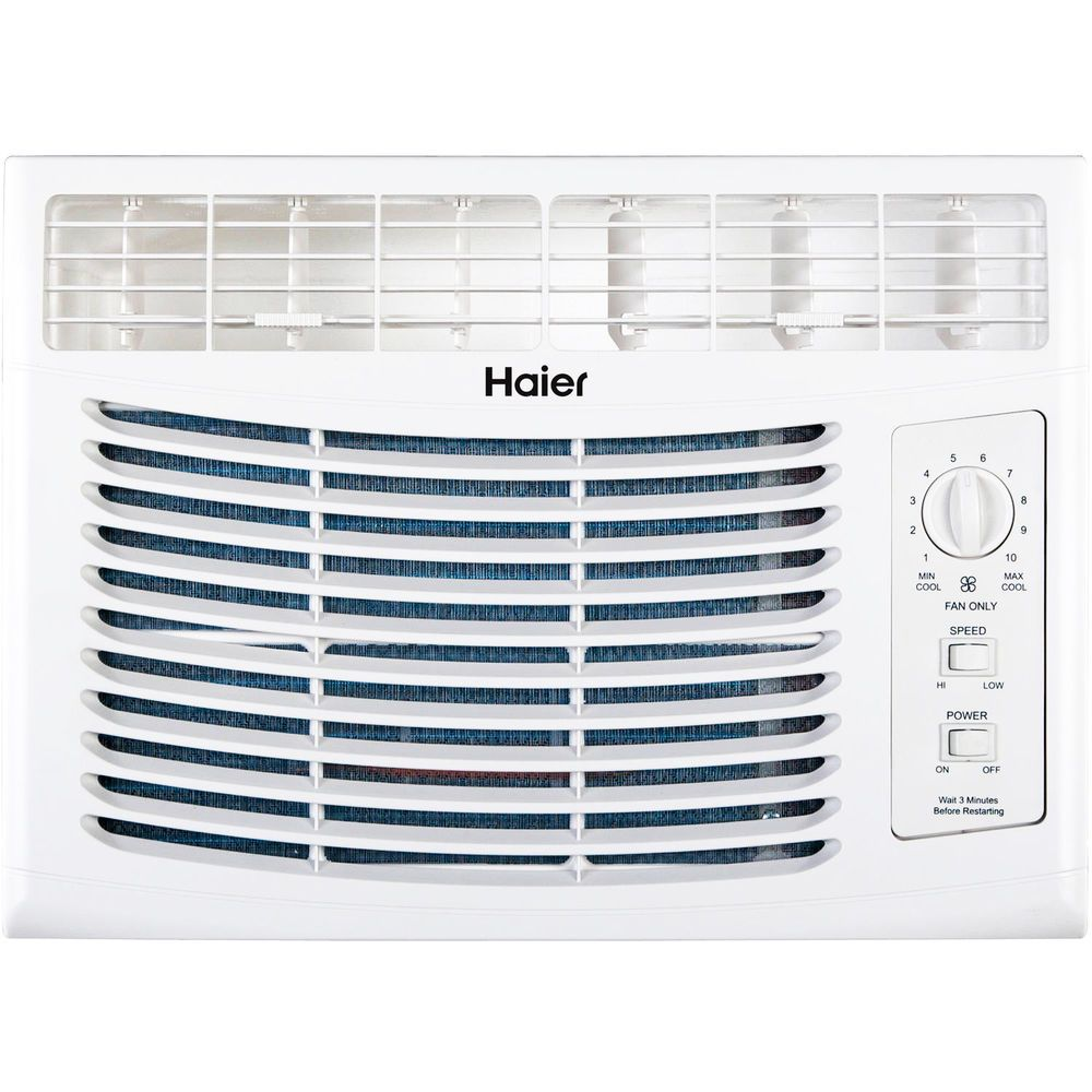 Haier Window Cooling Fan Btu Portable Air Conditioner Unit Indoor New Haier