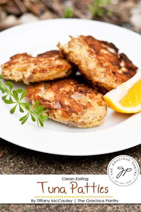 Clean Eating Tuna Patties images